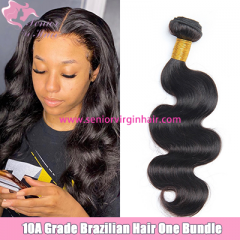 Natural Color Brazilian Body Wave Bundle 100% Human Hair Unprocessed