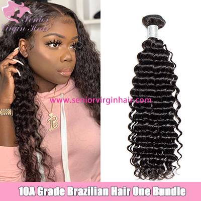 10A Grade Brazilian Hair Bundle Deep Wave Hair Extensions Wholesale Remy Hair Weave