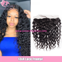 Brazilian Natural Wave 13x4 Lace Frontal Pre Plucked Natural Hairline