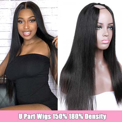Cheap U Part Wigs For Women Brazilian U Part Wigs Human Hair Wigs