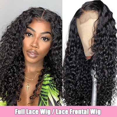 Brazilian Human Hair Italian Curly Lace Front Wigs Cheap Full Lace Wigs With Baby Hair