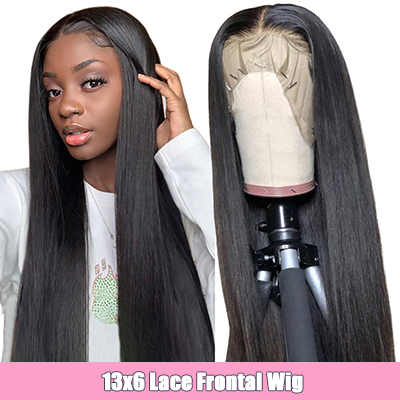 13*6 Lace Front Wigs Straight Human Hair Lace Frontal Wigs