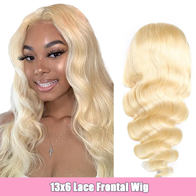 #613 Lace Front Wig Blonde Hair Body Wave 13x6 Lace Front Wig